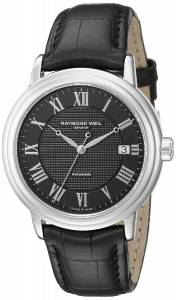 [レイモンドウィル]Raymond Weil  Analog Display Swiss Quartz Black Watch 2837-STC-00208