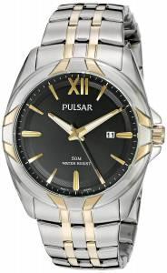 [パルサー]Pulsar 腕時計 Dress Analog Display Japanese Quartz Two Tone Watch PH9084 メンズ