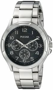 [パルサー]Pulsar  Chronograph Analog Display Japanese Quartz Silver Watch PP6207 メンズ