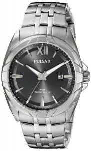 [パルサー]Pulsar 腕時計 Dress Analog Display Japanese Quartz Silver Watch PH9083 メンズ