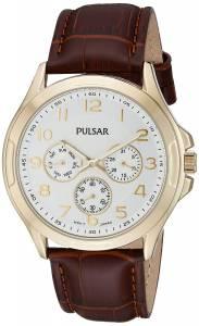 [パルサー]Pulsar  Chronograph Analog Display Japanese Quartz Brown Watch PP6206 メンズ