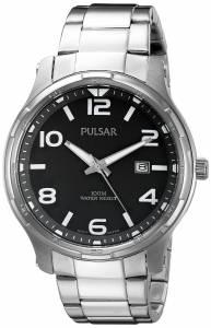 [パルサー]Pulsar 腕時計 Dress Analog Display Japanese Quartz Silver Watch PS9337 メンズ