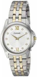 [パルサー]Pulsar  Dress Analog Display Japanese Quartz Two Tone Watch PM2165 レディース