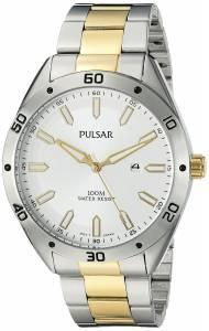 [パルサー]Pulsar  Every Day Value Analog Display Japanese Quartz Two Tone Watch PH9091X
