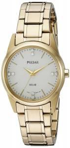 [パルサー]Pulsar  Solar Dress Analog Display Japanese Quartz Gold Watch PY5004 レディース