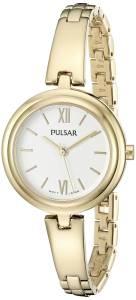 [パルサー]Pulsar  Every Day Value Analog Display Japanese Quartz Gold Watch PG2036X