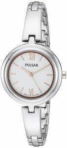 [パルサー]Pulsar  Every Day Value Analog Display Japanese Quartz Silver Watch PG2037X