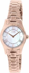 [ヒューゴボス]HUGO BOSS  Ambassador Rose Gold StainlessSteel Quartz Watch 1502378