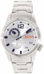 [ヒューゴボス]HUGO BOSS 腕時計 Orange Silver StainlessSteel Quartz Watch 1513148 メンズ