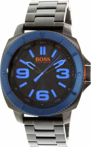 [ヒューゴボス]HUGO BOSS  Sao Paulo Black StainlessSteel Quartz Watch 1513160 メンズ
