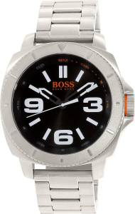 [ヒューゴボス]HUGO BOSS  Sao Paulo Silver StainlessSteel Quartz Watch 1513161 メンズ