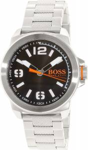 [ヒューゴボス]HUGO BOSS 腕時計 Orange Silver StainlessSteel Quartz Watch 1513153 メンズ
