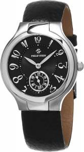 [フィリップ ステイン]Philip Stein Classic Round Black Leather Strap Natural 41FBCB