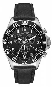 [ノーティカ]Nautica 腕時計 Leather Watch NAI15505G メンズ [並行輸入品]
