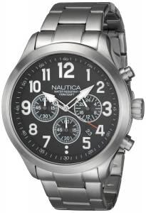 [ノーティカ]Nautica 腕時計 Stainless Steel Watch NAI16515G メンズ [並行輸入品]