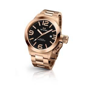 [ティーダブルスティール]TW Steel  Analog Display Quartz Rose Gold Watch CB171 メンズ