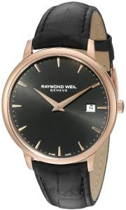 [レイモンドウィル]Raymond Weil  Analog Display Quartz Black Watch 5488-PC5-20001 メンズ
