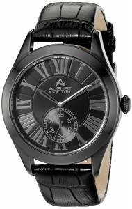 [オーガストシュタイナー]August Steiner AS8203 Round Black Dial Two Hand Quartz AS8203BK
