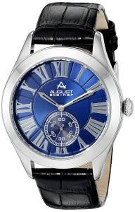 [オーガストシュタイナー]August Steiner AS8203 Round Blue Dial Two Hand Quartz AS8203SSBU