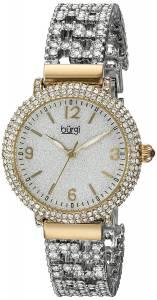 [バージ]Burgi  Round Silver Dial Three Hand Quartz Bracelet Watch BUR140YG レディース