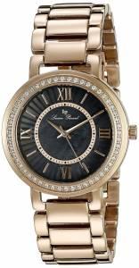 [ルシアン ピカール]Lucien Piccard  Analog Display GoldTone Watch LP-11902-RG-11MOP