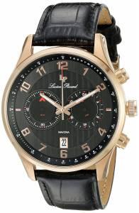 [ルシアン ピカール]Lucien Piccard  Navona Analog Display Quartz Black Watch LP-11187-RG-01
