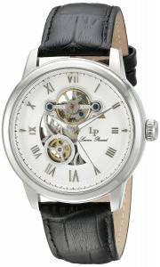 [ルシアン ピカール]Lucien Piccard Optima Stainless Steel Watch with Black Band LP-12524-02