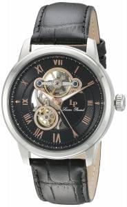 [ルシアン ピカール]Lucien Piccard Optima Stainless Steel Automatic Watch with LP-12524-01-RA