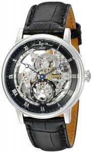 [ルシアン ピカール]Lucien Piccard Quantum Stainless Steel Automatic Watch with LP-40013A-01