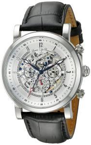 [ルシアン ピカール]Lucien Piccard Sultan Stainless Steel Watch with Black LP-40010A-02S