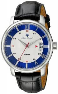 [ルシアン ピカール]Lucien Piccard Amici Stainless Steel Watch with Black LP-40019-02S-BLC
