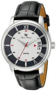 [ルシアン ピカール]Lucien Piccard Amici Stainless Steel Watch with Black LP-40019-02S-BC