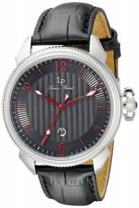 [ルシアン ピカール]Lucien Piccard Trevi Stainless Steel Watch with Black LP-40053-01-RDA