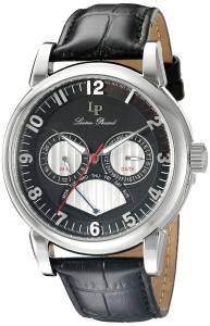 [ルシアン ピカール]Lucien Piccard  Analog Display Quartz Black Watch LP-15051-01 メンズ