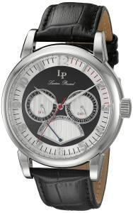 [ルシアン ピカール]Lucien Piccard  Analog Display Quartz Black Watch LP-15051-02S メンズ