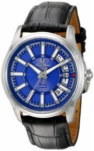 [ルシアン ピカール]Lucien Piccard  Del Campo Analog Display Quartz Black Watch LP-40025-03