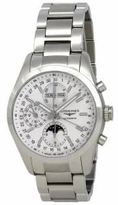 [ロンジン]Longines  Conquest Classic Silver Dial Chronograph Stainless Steel Watch L27984726