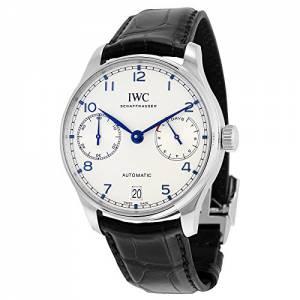 [アイダブルシー]IWC 腕時計 Portugieser Automatic Black Strap Watch IW500705 メンズ