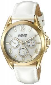 [オーガストシュタイナー]August Steiner Round Silver Dial Three Hand Quartz Gold AS8191YGW