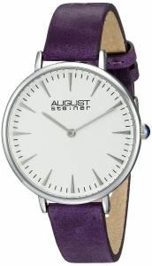 [オーガストシュタイナー]August Steiner AS8187 Round White Dial Two Hand Quartz AS8187PU