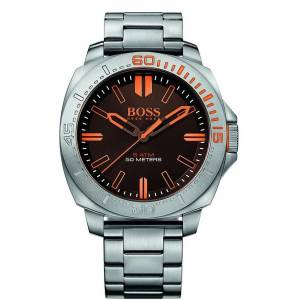 [ヒューゴボス]HUGO BOSS BOSS Orange Sao Paulo Analog Display Japanese Quartz Silver 1513296