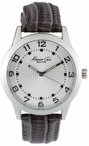 [ケネスコール]Kenneth Cole 腕時計 Leather Watch 10014650 メンズ [並行輸入品]