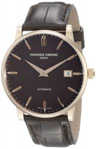 [フレデリックコンスタント]Frederique Constant Slim Line Rose GoldTone Watch FC316C5B9
