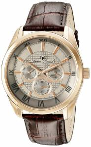 [ルシアン ピカール]Lucien Piccard  Odessy Analog Display Quartz Brown Watch 10153-RG-014