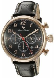[ルシアン ピカール]Lucien Piccard Trieste Analog Display Quartz Black Watch LP-72415-RG-01