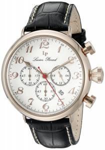 [ルシアン ピカール]Lucien Piccard Trieste Analog Display Quartz Black Watch LP-72415-RG-02S