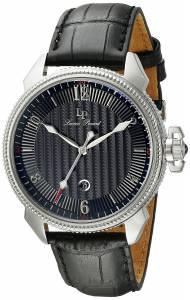 [ルシアン ピカール]Lucien Piccard Trevi Stainless Steel Watch with Leather Band LP-40053-01
