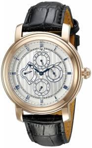 [ルシアン ピカール]Lucien Piccard  Valarta Analog Display Quartz Black Watch 40009-RG-02S