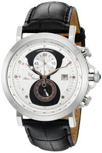[ルシアン ピカール]Lucien Piccard  Pegasus Analog Display Quartz Black Watch 40015-02S-RA