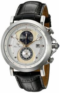 [ルシアン ピカール]Lucien Piccard Pegasus Analog Display Quartz Black Watch 40015-02S-RA-CP